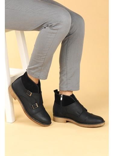 Ayakland 5200 Nubuk Termo Erkek Bot Ayakkabı Siyah